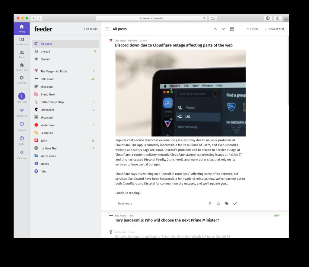 Blog   feeder co - RSS Feed Reader